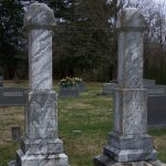 William and Katherine Hull monuments