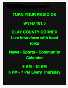 Clay County Corner radio show